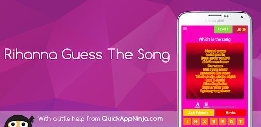 Rihanna Guess The Song   App su Google Play