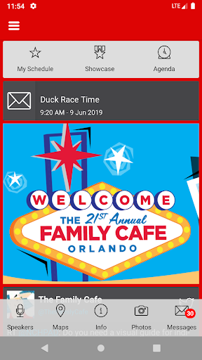 The Annual Family Cafe Event App screenshots 2