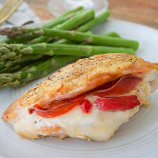 Oven Grilled Chicken Stuffed Chicken Breasts