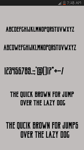 Free Fonts Style 1