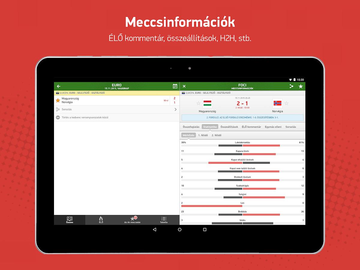 www.eredmenyek.com