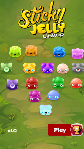 Sticky Jelly LinkUp screenshot 1