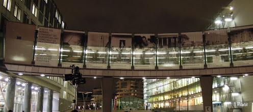 Photo: Evropský parlament - náměstí solidarity, rozsvěcení Havlova srdce
