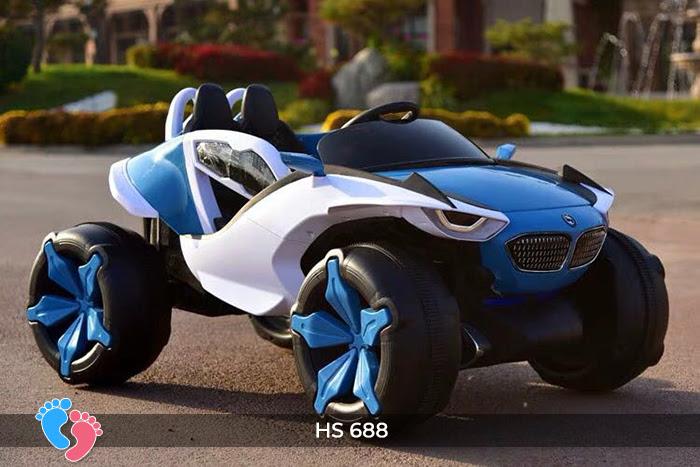 Xe ô tô điện địa hình cho bé hs-688 23