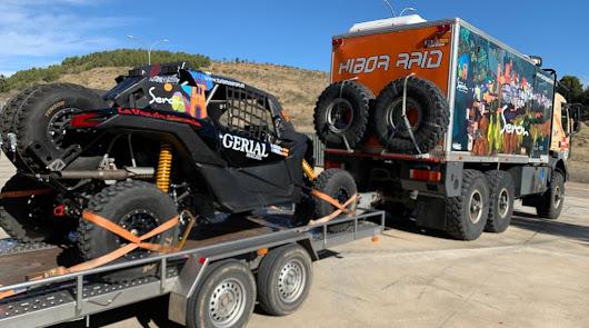 El almeriense José Antonio Hinojo y LA VOZ emprenden camino hacia el Dakar 2021