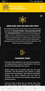 Download Roundshield password generator and wallet For PC Windows and Mac apk screenshot 8
