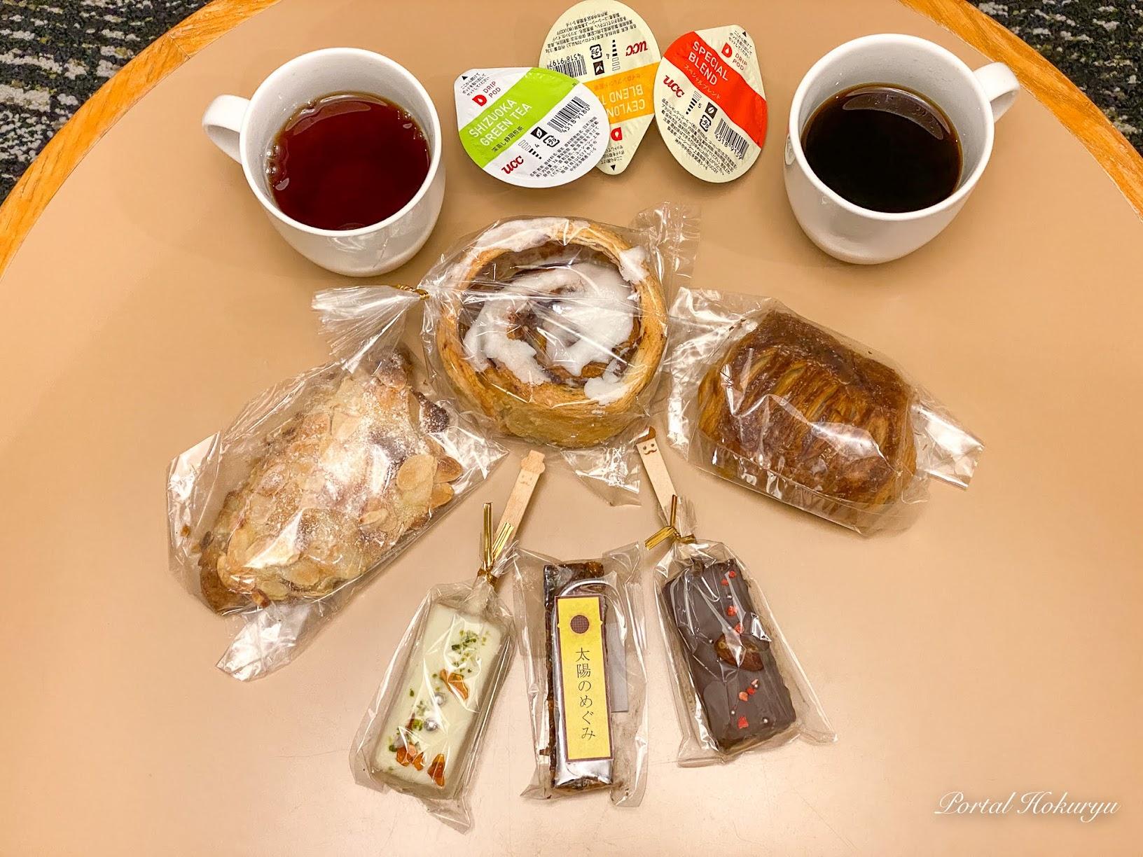 どれもこれも、とっても美味しいパン&スイーツたち♡