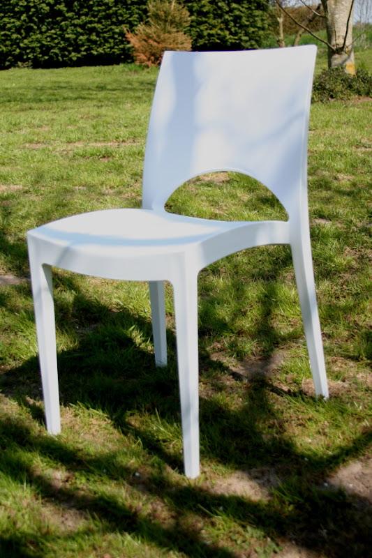 Lounge stoel huren wit