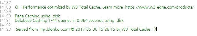 w3 total cache feed error