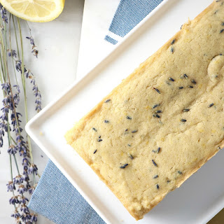 Vegan Lemon Lavender Pound Cake Recipe