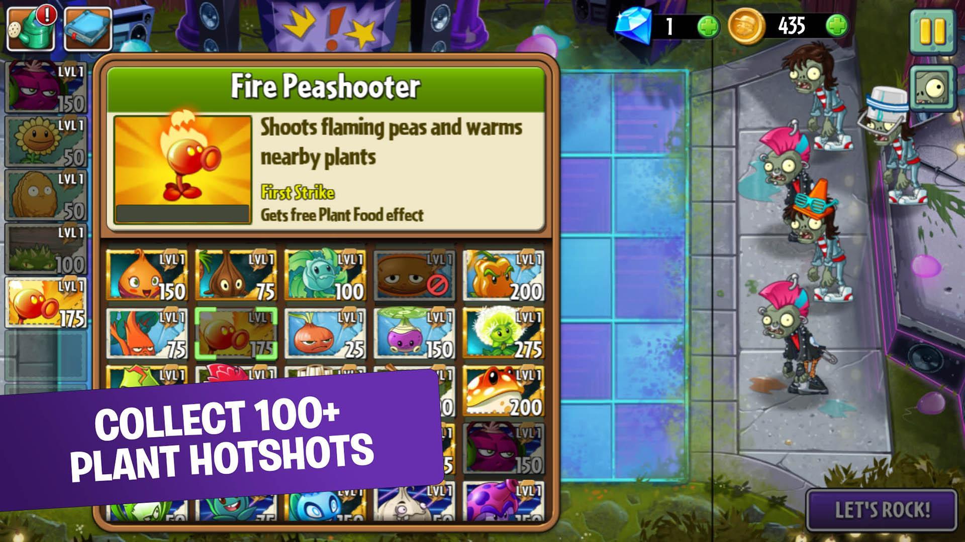 Plants vs Zombies 2 Mod Apk (Unlimited Money/Gems) 3