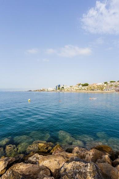 Roquetas de Mar, playas de la Urbanización y de Aguadulce.