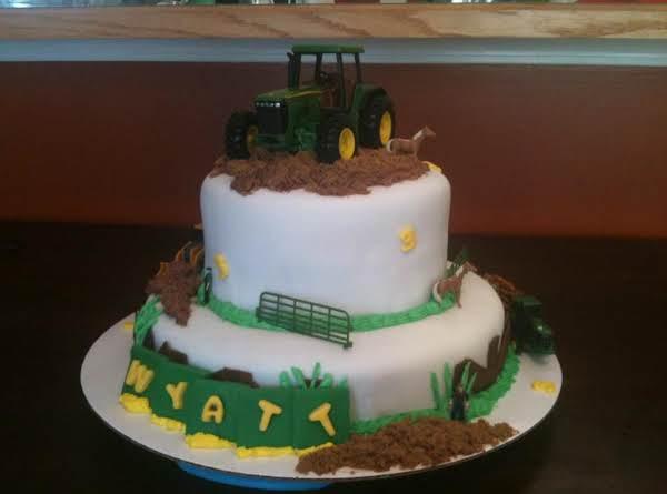John Deere® Cake