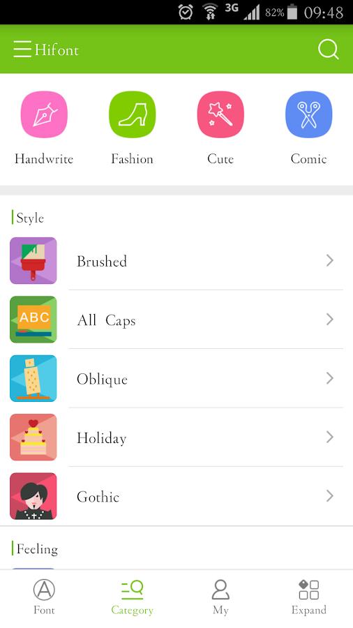 HiFont - Cool Font Text Free - screenshot