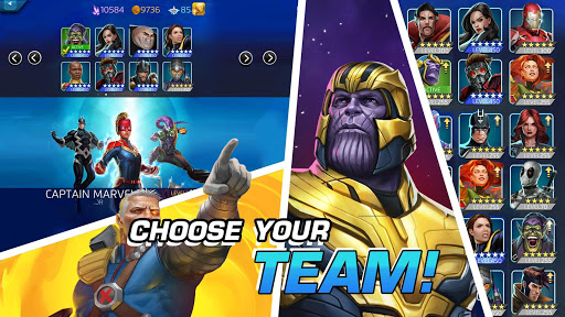 MARVEL Puzzle Quest: Join the Super Hero Battle! screenshots 15