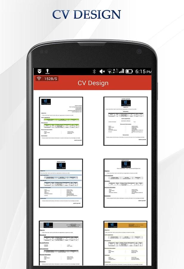 cv maker free download software