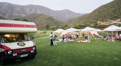 Photo: Food truck for the gourmet picnic wedding