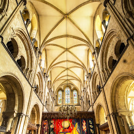 High Alter in Chichester Cathedral. by Simon Page - Buildings & Architecture Places of Worship