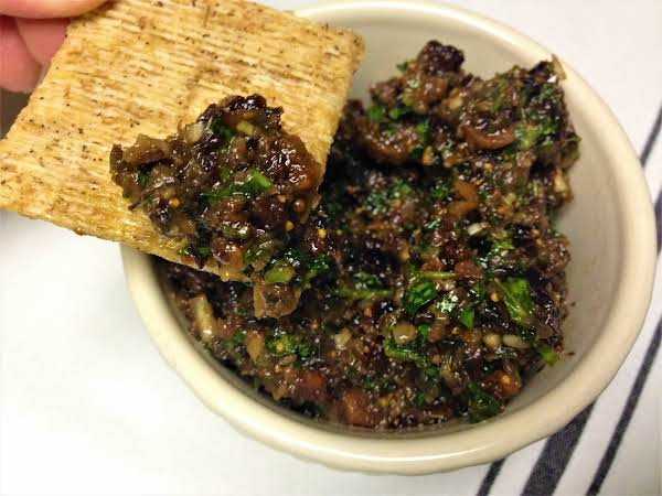 Black Olive And Fig Tapenade