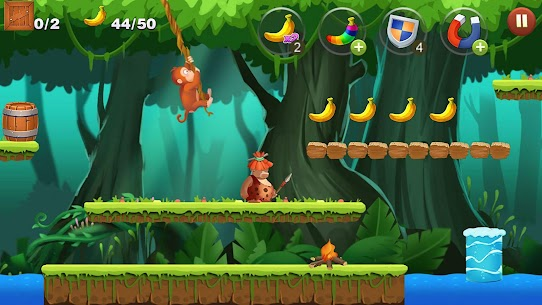 Jungle Monkey Run App Download For Android and iPhone 5