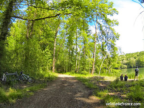 Photo: Promenade de Samois - E-guide balade circuit à vélo sur les Bords de Seine à Bois le Roi par veloiledefrance.com.