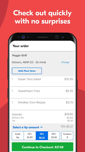 Grubhub: Local Food Delivery & Restaurant Takeout screenshots 4