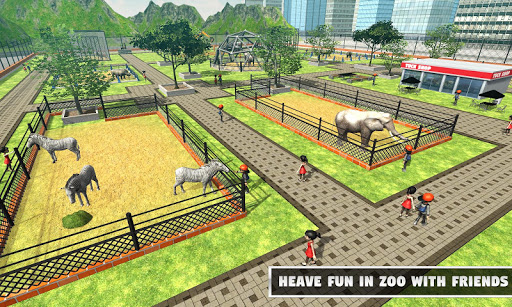 zoo animal: construire et construire le monde anim  captures d'écran 1