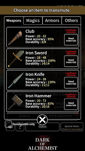 Dark of Alchemist - Dungeon Crawler RPG 1.3.0 de.gamequotes.net 5