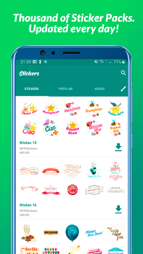All Stickers - WAStickerApps Apk 1