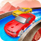 Waterpark Car Racing