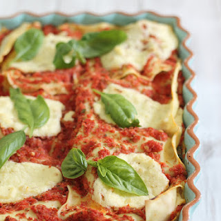 Simple Summer Lasagna.