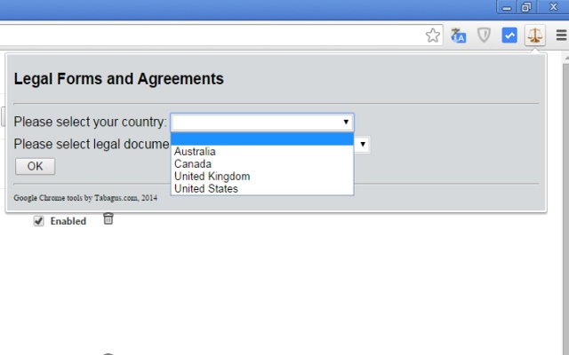 Legal Forms And Agreements Chrome Web Store - Legal forms canada