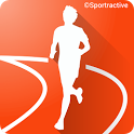 Sportractive GPS Running Cycling Distance Tracker icon