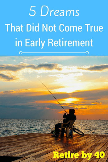 5 Dreams That Did Not Come True in Early Retirement