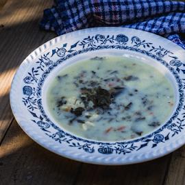 Spring soup by Marius Radu - Food & Drink Plated Food ( soup, green, plate, bowl, fresh, food )