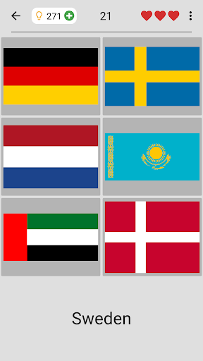 Flags of All Countries of the World: Guess-Quiz screenshots 16