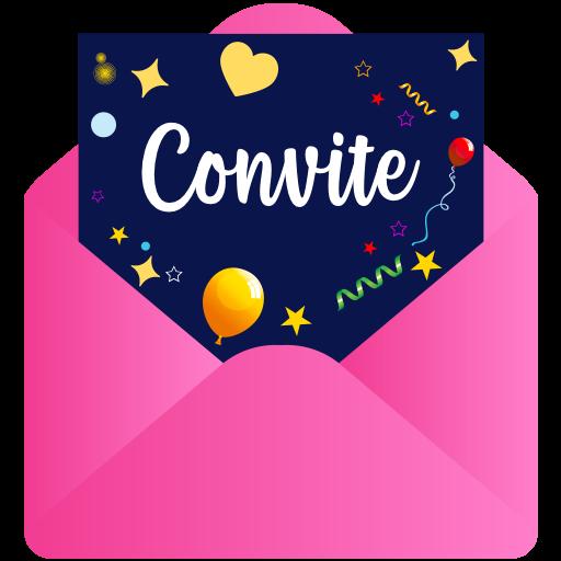Criador de Convites - Fazer Convite Virtual