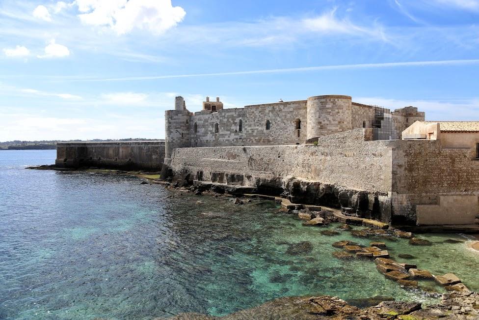 Syrakuzy, Ortygia, Zamek Maniace