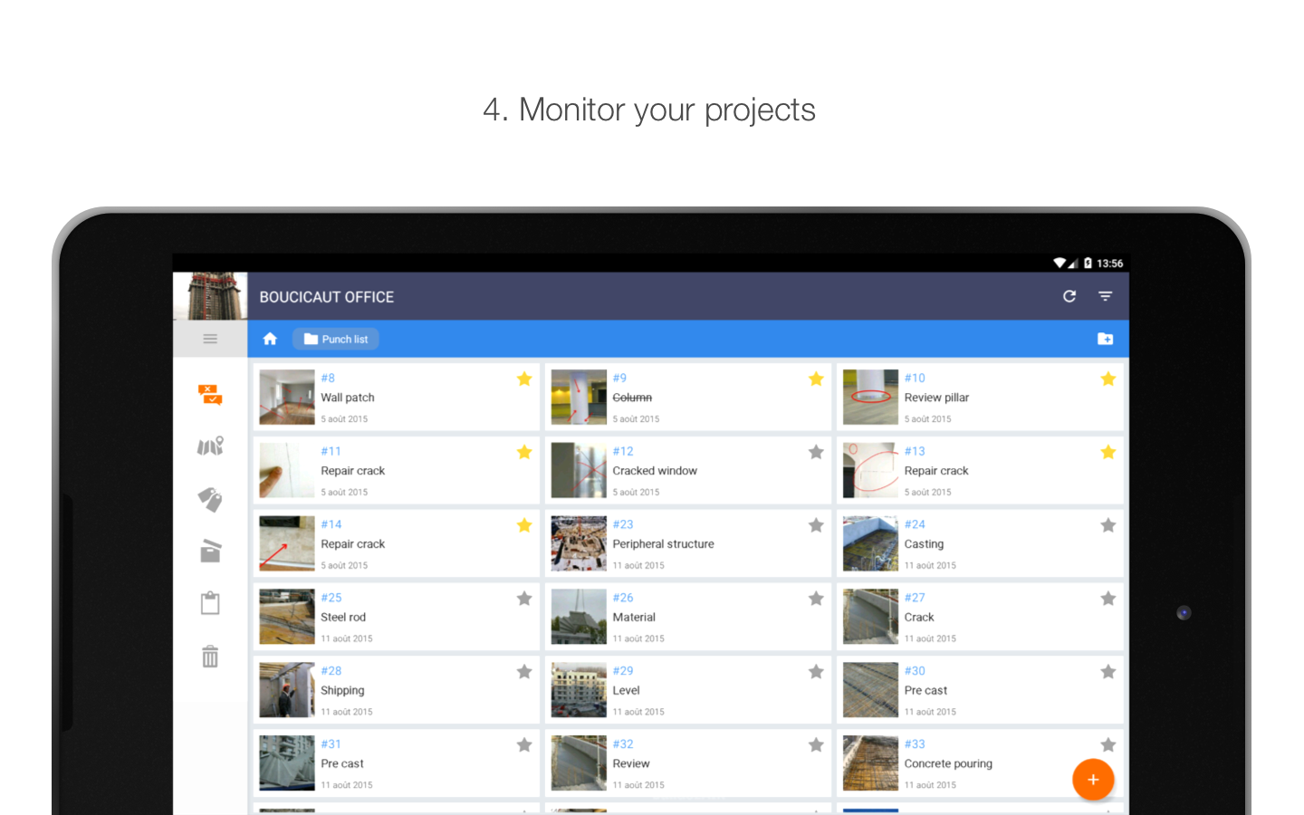 BulldozAIR - Task Management- screenshot
