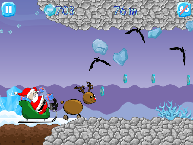 android Xmas Ride - Santa Escape Screenshot 10