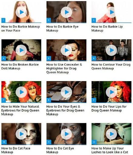 玩免費遊戲APP|下載Halloween Makeup app不用錢|硬是要APP