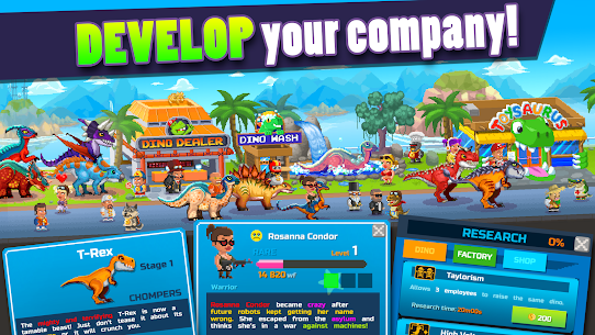 Dino Factory MOD 1.2.2 (Unlimited Money) APK 5