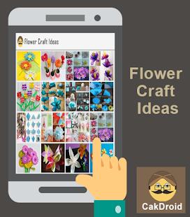 Květinové nápady řemesla - náhled