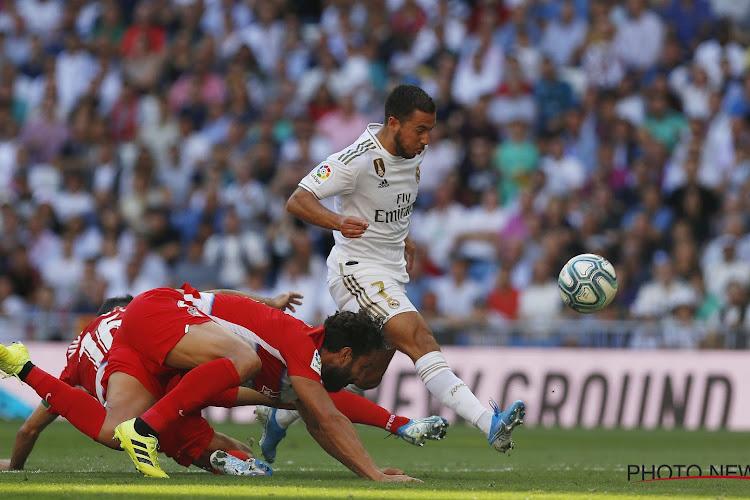 Zidane pointe ce qu'il manque à Eden Hazard
