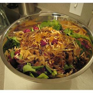 Mandarin Orange Green Salad