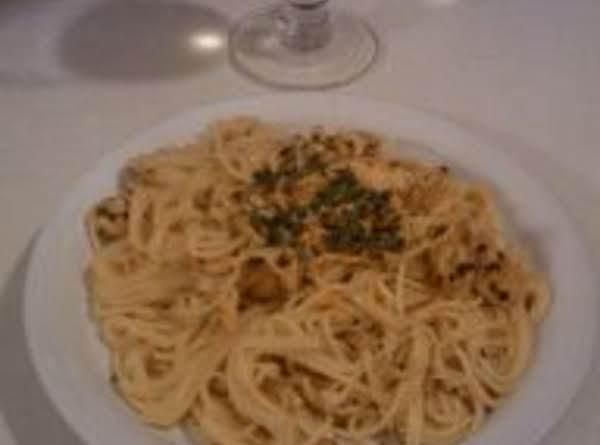 Lemon & Chicken Spaghetti