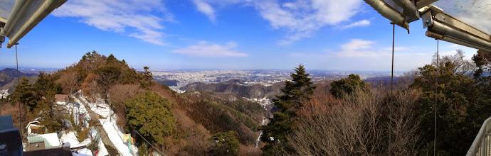 Photo: Mt Takao view one