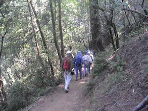 Photo: Senior hike in Marin County