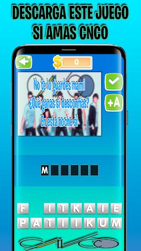 CNCO ud83dude0d Adivina Canciones CNCO Juego de cncowners android2mod screenshots 4