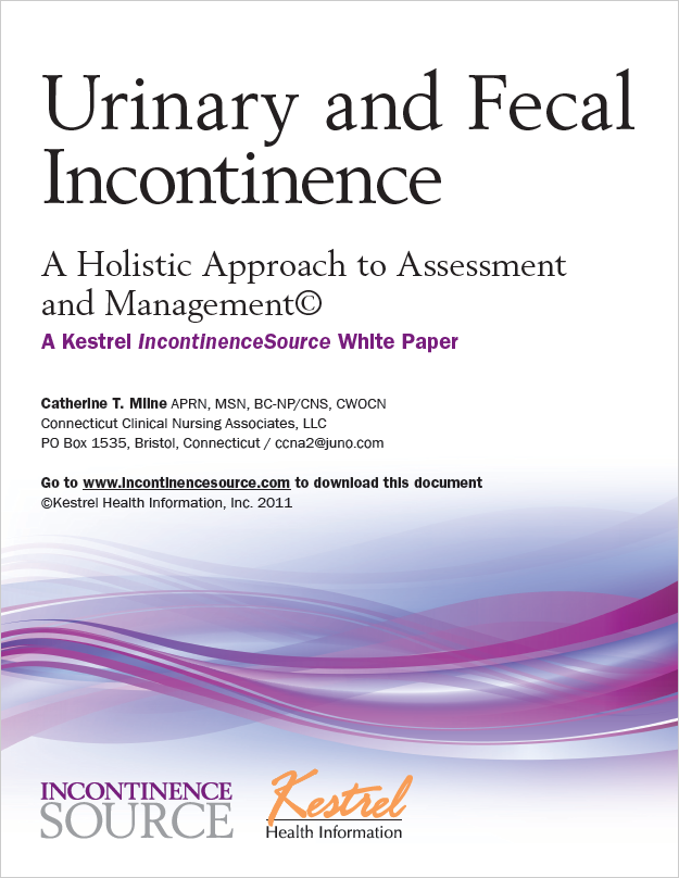 Urinary and Fecal Incontinence White Paper